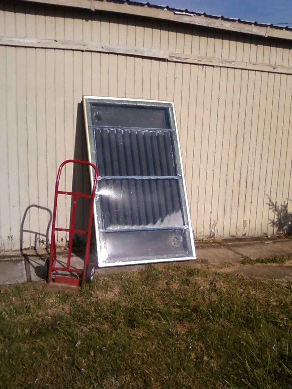 Do it yourself solar air heater for Window heater