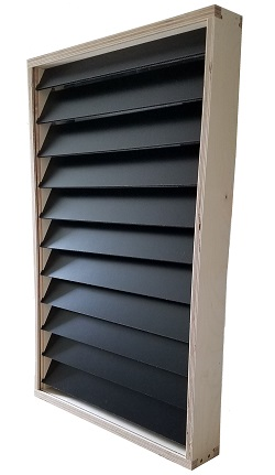 "Solar Air Heater 16"" Wide 48"" Tall"