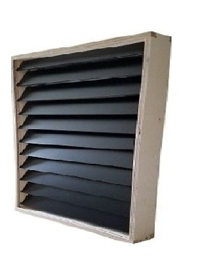 Solar Air Heater Cube SAS2424 4-Panel System