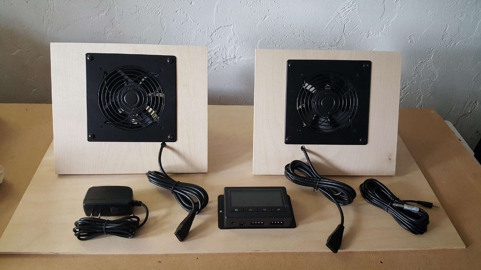 Solar Air Heater Fan Wall Vent Kit