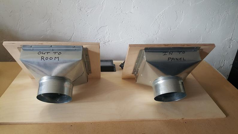 solar air heater wall vent