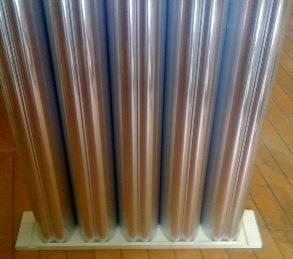 Solar Window Heater 32.5 Inch Profile
